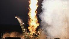 Запуск пилотируемого корабля Союз МС-05 с участниками длительной экспедиции МКС-52/53