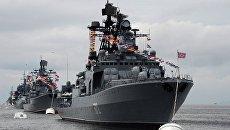 Большой противолодочный корабль Адмирал Виноградов. Архивное фото