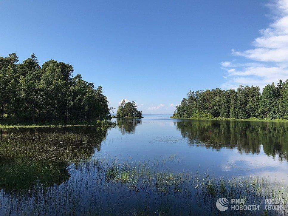 Природа в окрестностях Валаамского монастыря