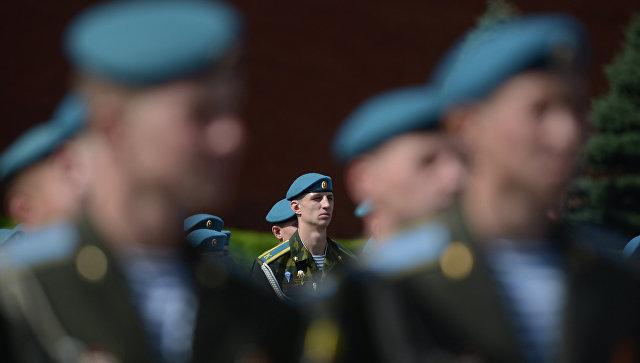 Военнослужащие ВДВ РФ. Архивное фото