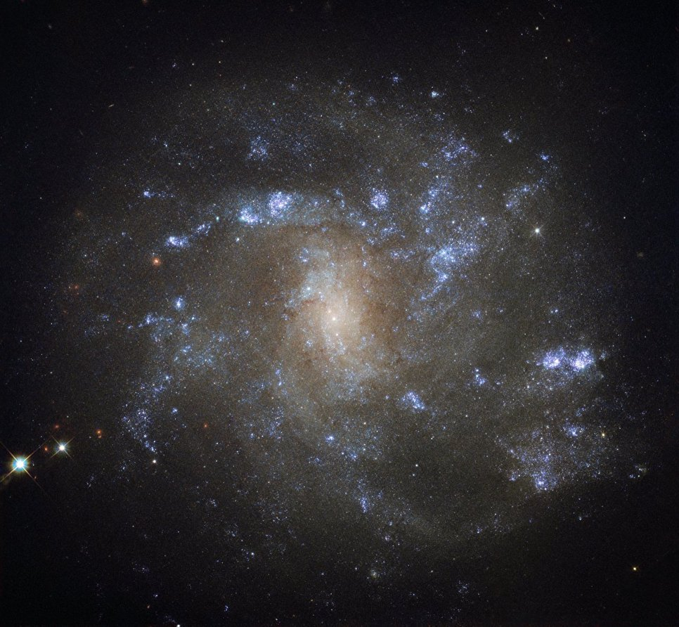 Cпиральная галактика NGC 2500