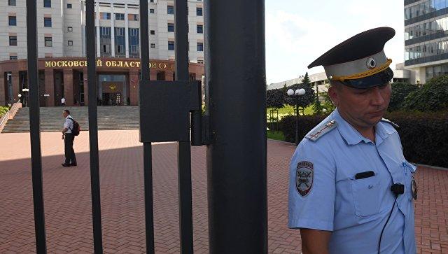 Перестрелка в Московском областном суде