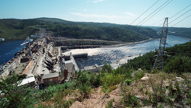 Бурейская ГЭС. Архивное фото