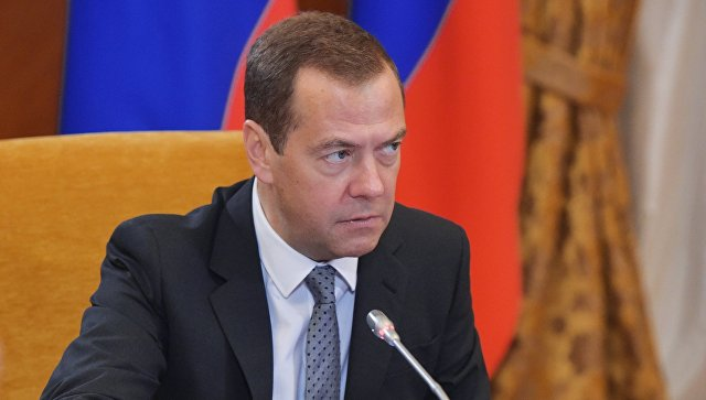 Премьер-министр РФ Дмитрий Медведев провел заседание попечительского совета Фонда развития Центра разработки и коммерциализации новых технологий. 2 августа 2017