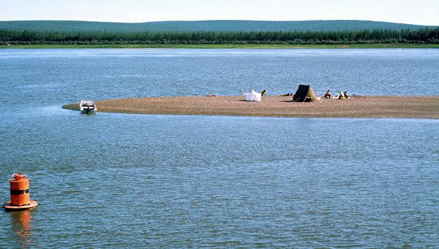 На реке Колыме. Архивное фото