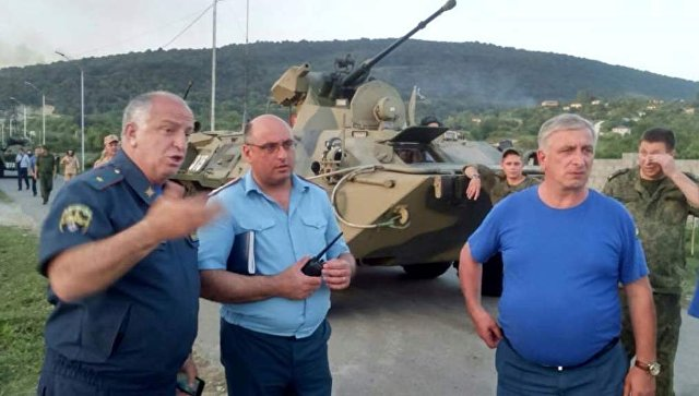 При взрыве на складе боеприпасов в Абхазии пострадали 50 человек