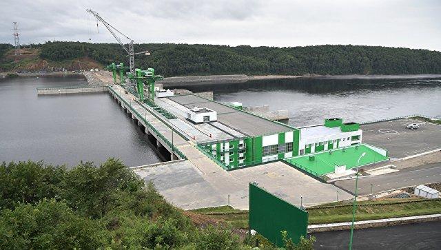 Нижне-Бурейская ГЭС, где были введены в эксплуатацию три гидроагрегата. 3 августа 2017