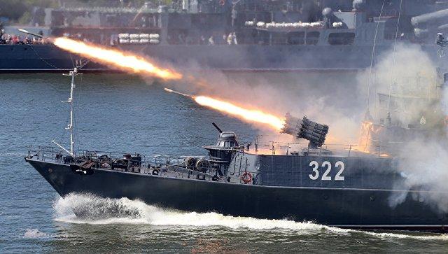 Корабли БалтфлотаРФ вышли вморе научения «Запад-2017»