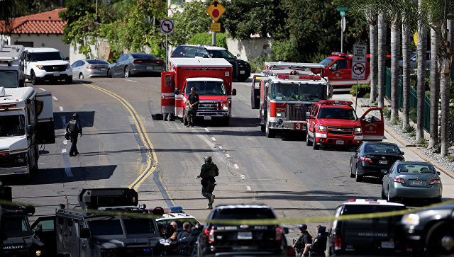 Сильный пожар появился нахимическом заводе вКалифорнии