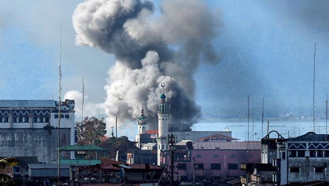 Боевые действия в Марави. Архивное фото