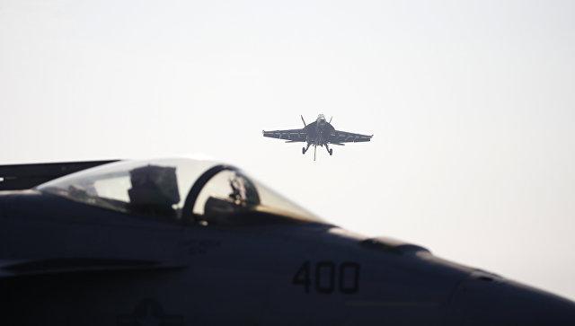 Иранский беспилотник едва неврезался всамолет ВМС США