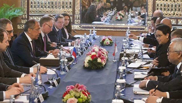 Лавров: РФ поддерживает интерес Индонезии к зоне свободной торговли с ЕАЭС