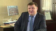 Генеральный директор АО Восточная верфь Олег Сиденко