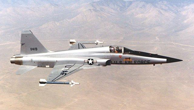 Американский истребитель Northrop F-5. Архивное фото