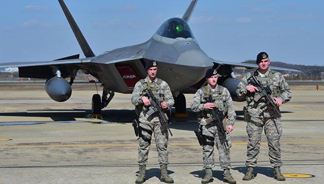 Американские военнослужащие в Южной Корее. Архивное фото