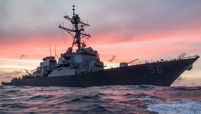 Китай обвинил США во вторжении на свою территорию