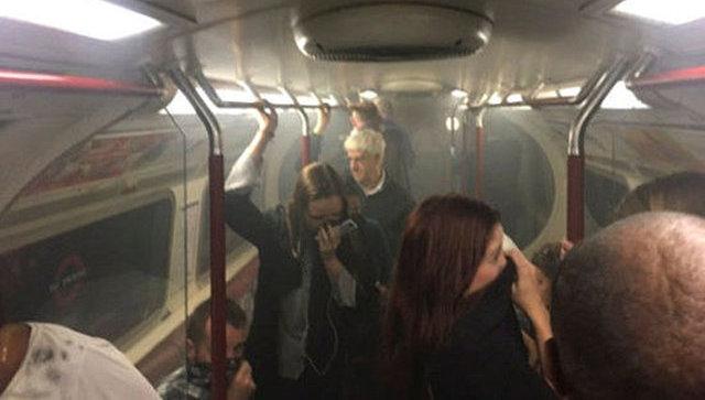 В итоге пожара вметро Лондона пострадали 4 человека