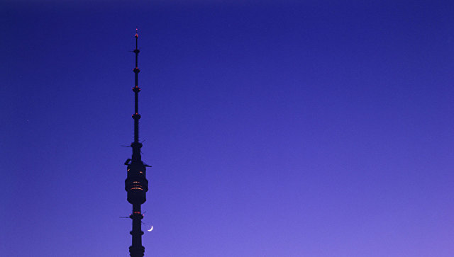 Останкинская телевизионная башня. Архивное фото