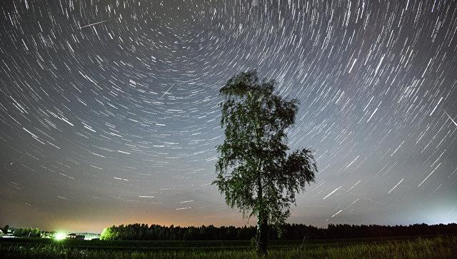Метеорный поток Персеиды. Архивное фото