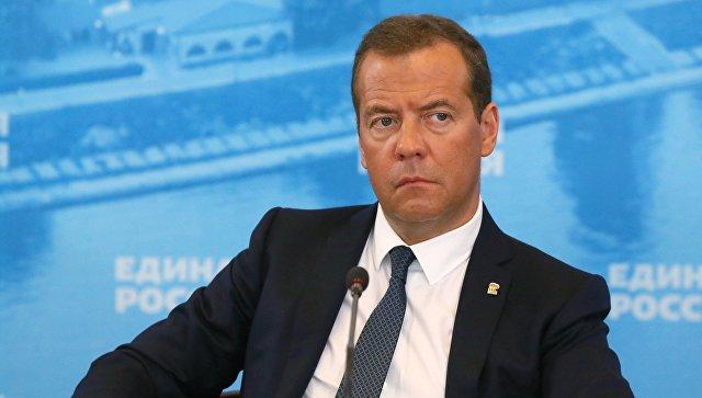 Медведев установил задачуЕР укрепить позиции партии навыборах вначале осени