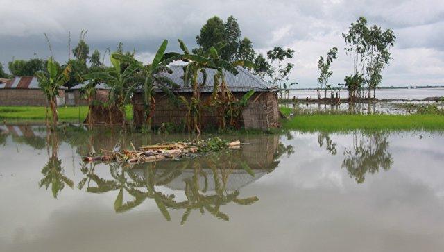 Наводнение в Бангладеш. Архивное фото