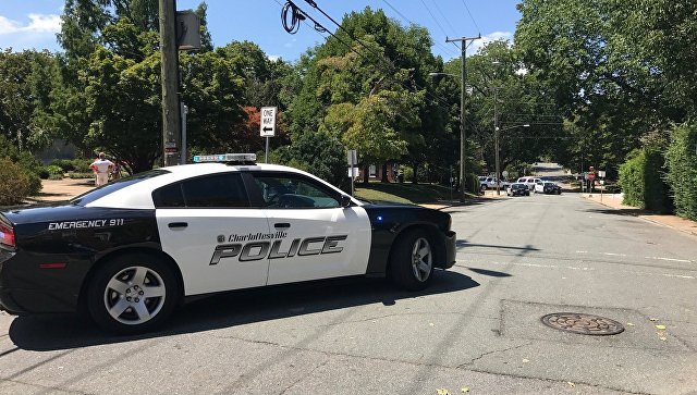 Автомобиль американской полиции. Архивное фото
