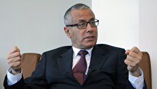 Ливийский политик Али Зейдан. Архивное фото