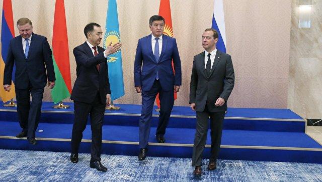 Медведев считает необходимым создать единое цифровое пространство ЕАЭС