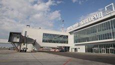 Терминал международного аэропорта Стригино в Нижнем Новгороде. Архивное фото