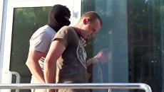 Гражданин Украины Геннадий Лимешко, задержанный управлением ФСБ России по Республике Крым