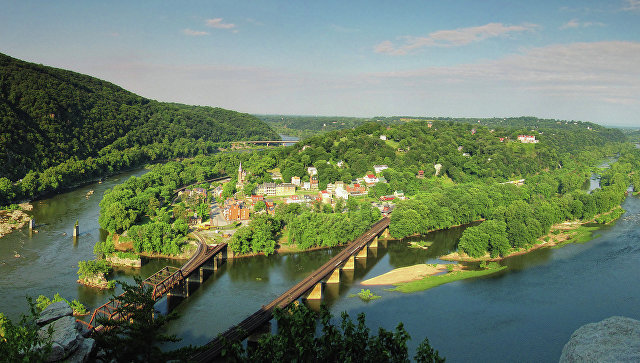 Штат Мэриленд. США. Архивное фото