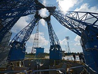 Стартовый комплекс на космодроме Восточный. Архивное фото