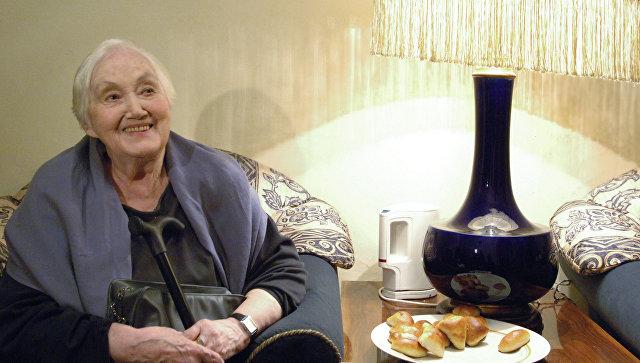 Актриса МХТ им.Чехова Кира Головко. Архивное фото