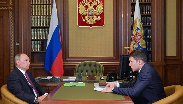 Путин: При перевалке угля вопросы экологии находятся вприоритете
