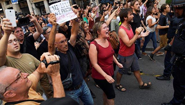 Митинг против исламизации Европы. 18 августа 2017