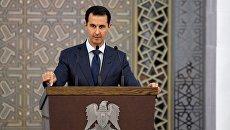 Президент Сирии Башар Асад. Архивное фото