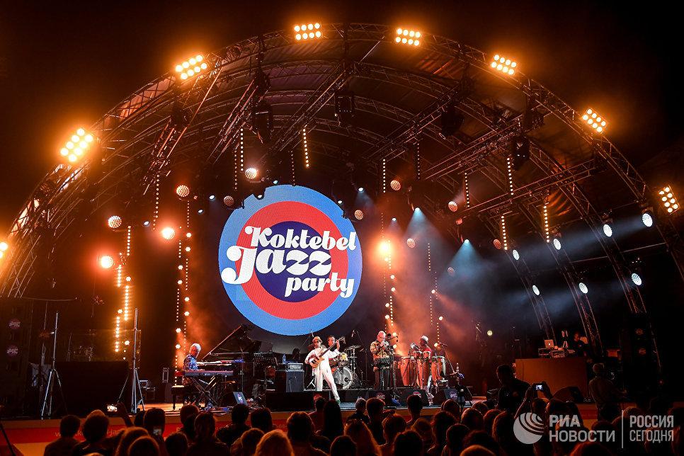 Выступление коллектива Brazil All Stars на фестивале Koktebel Jazz Party 2017
