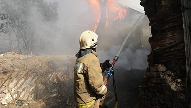 В Ростове-на-Дону развернули пункты временного размещения на месте пожара