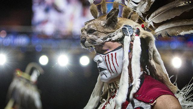 Фольклорный фестиваль индейцев. Архивное фото.