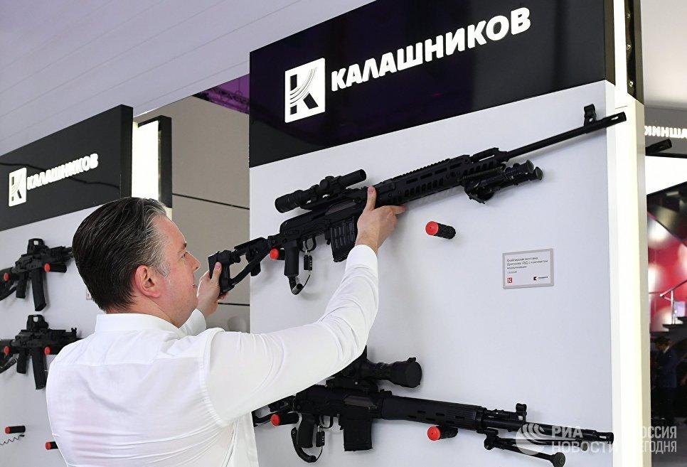 Презентация новых разработок концерна Калашников в рамках международного военно-технического форума Армия-2017