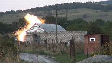 Сотрудники спецслужб взорвали дом с террористами во время спецоперации в Ингушетии