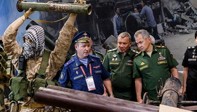 Шойгу заявил о «фактическом прекращении» гражданской войны в Сирии