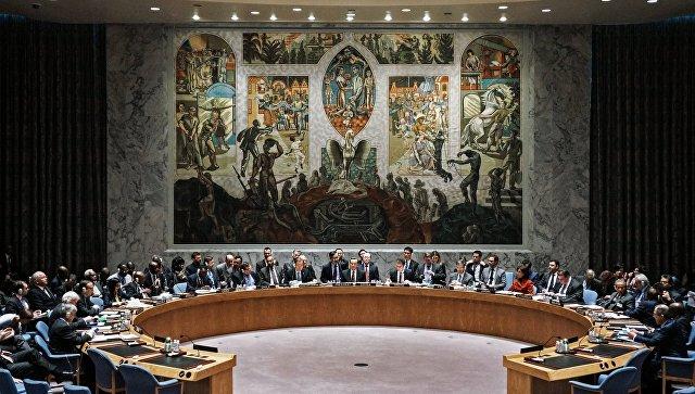 Зал заседаний Совета Безопасности ООН в Нью-Йорк. Архивное фото