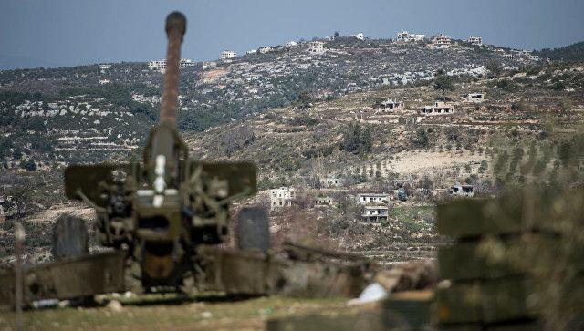 Турция продолжает переброску военной техники в Идлиб