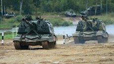 Самоходная артиллерийская установка Мста-С. Архивное фото