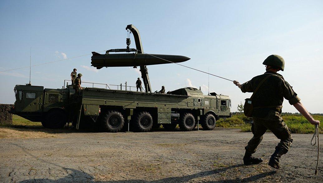 Развёртывание оперативно-тактического ракетного комплекса Искандер-М на форуме Армия–2017 в Свердловской области