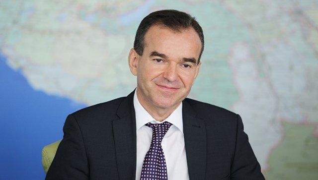 Губернатор Краснодарского края Вениамин Кондратьев. Архивное фото
