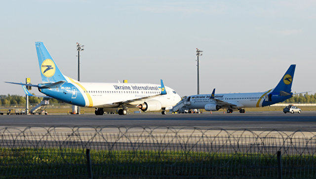 Самолеты в аэропорту Борисполь. Архивное фото