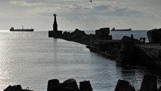Вид на акваторию Невельского залива на юго-западном побережье острова Сахалин. Архивное фото