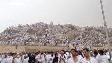 Гора Арафат близ Мекки в Саудовской Аравии. Архивное фото